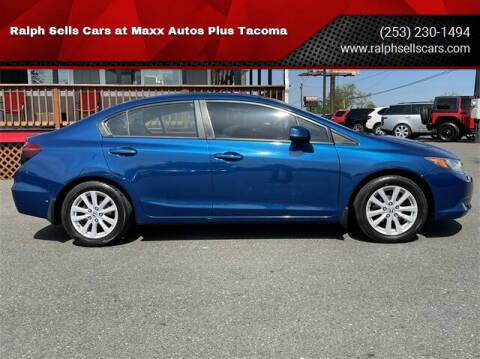 2012 Honda Civic for sale at Ralph Sells Cars at Maxx Autos Plus Tacoma in Tacoma WA