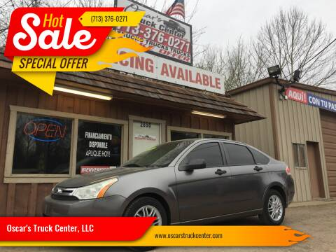 2010 Ford Focus for sale at Oscar's Truck Center, LLC in Houston TX