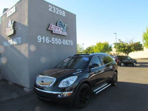 2010 Buick Enclave for sale at LIONS AUTO SALES in Sacramento CA