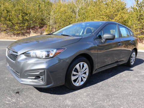 2018 Subaru Impreza for sale at RUSTY WALLACE KIA OF KNOXVILLE in Knoxville TN