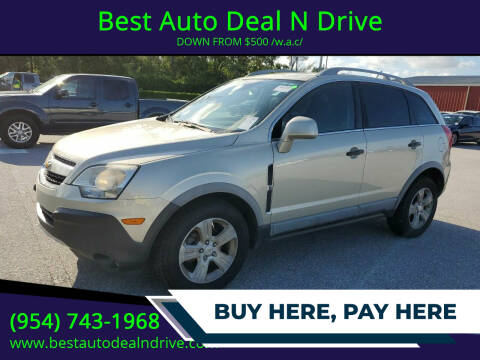 2014 Chevrolet Captiva Sport for sale at Best Auto Deal N Drive in Hollywood FL