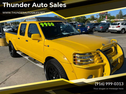 2002 Nissan Frontier for sale at Thunder Auto Sales in Sacramento CA