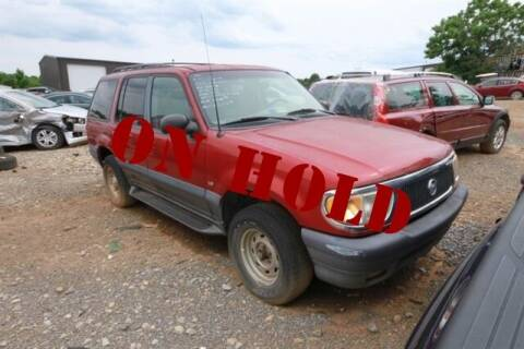 1998 Mercury Mountaineer for sale at East Coast Auto Source Inc. in Bedford VA