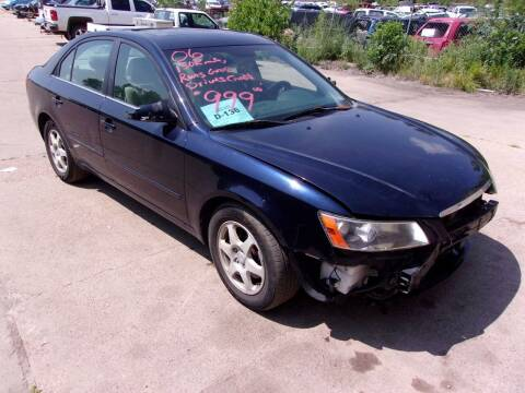 2006 Hyundai Sonata for sale at Barney's Used Cars in Sioux Falls SD