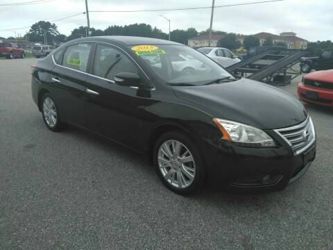 2013 Nissan Sentra for sale at Kelly & Kelly Supermarket of Cars in Fayetteville NC