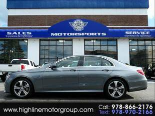 2017 Mercedes-Benz E-Class for sale at Highline Group Motorsports in Lowell MA