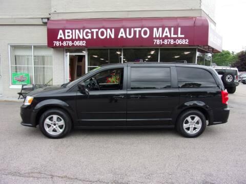 2012 Dodge Grand Caravan for sale at Abington Auto Mall LLC in Abington MA