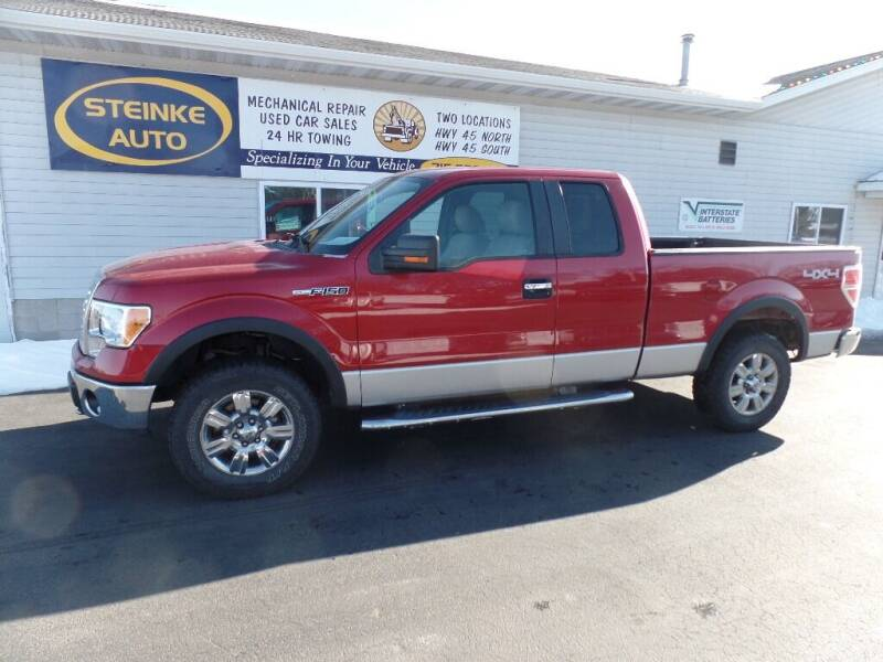 2010 Ford F-150 for sale at STEINKE AUTO INC. - Steinke Auto Inc (South) in Clintonville WI