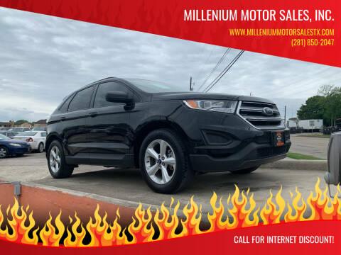 2016 Ford Edge for sale at MILLENIUM MOTOR SALES, INC. in Rosenberg TX