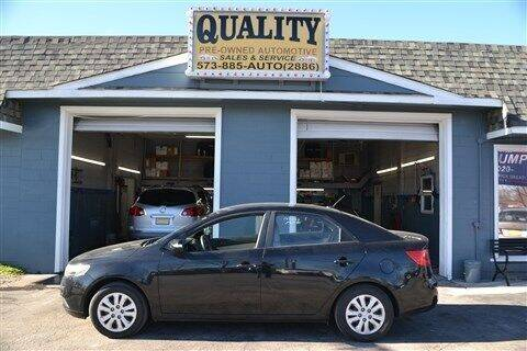 2010 Kia Forte for sale at Quality Pre-Owned Automotive in Cuba MO
