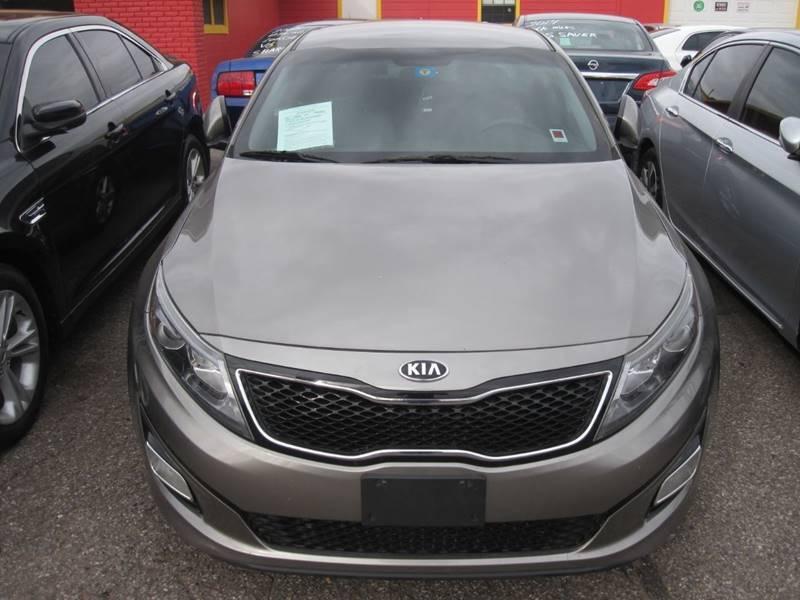 2014 Kia Optima for sale at T & D Motor Company in Bethany OK