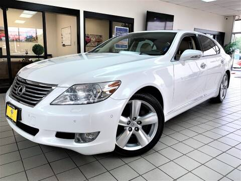 2012 Lexus LS 460 for sale at SAINT CHARLES MOTORCARS in Saint Charles IL