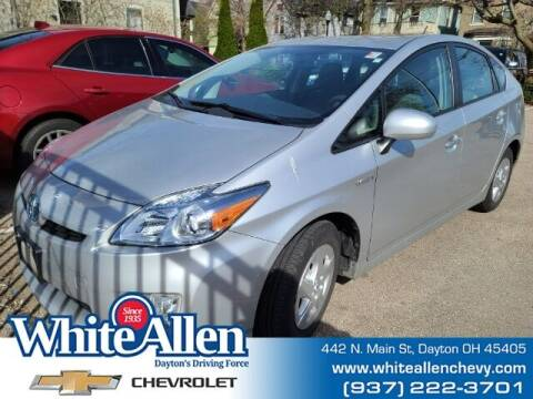 2010 Toyota Prius for sale at WHITE-ALLEN CHEVROLET in Dayton OH