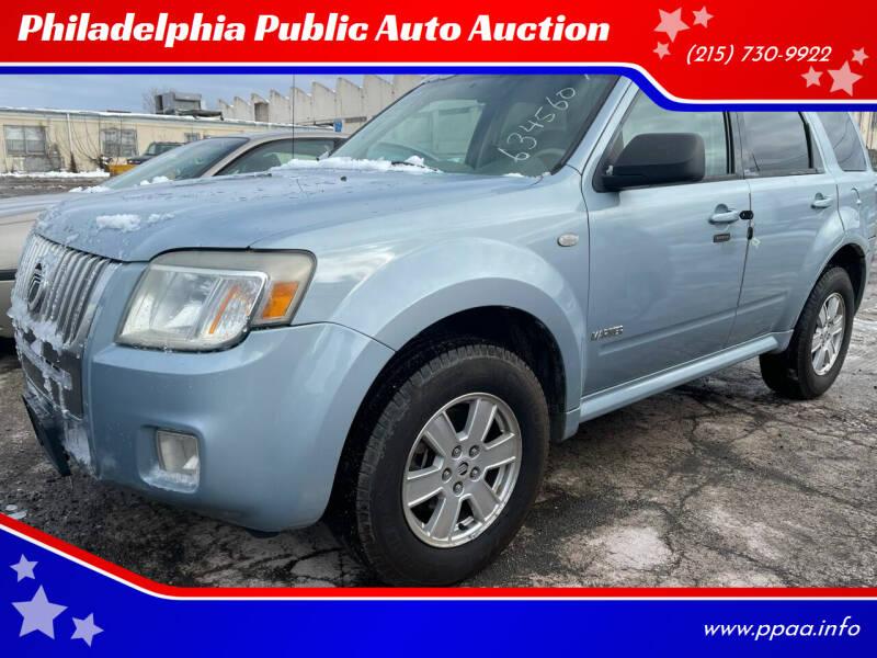 2008 Mercury Mariner for sale at Philadelphia Public Auto Auction in Philadelphia PA