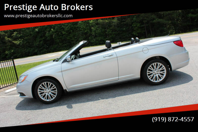 2011 Chrysler 200 Convertible for sale in Raleigh, NC