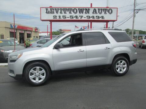 2014 GMC Acadia for sale at Levittown Auto in Levittown PA