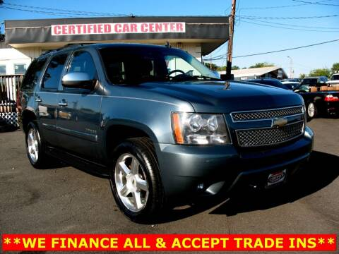 2008 Chevrolet Tahoe for sale at CERTIFIED CAR CENTER in Fairfax VA