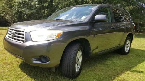2008 Toyota Highlander for sale at Klassic Cars in Lilburn GA