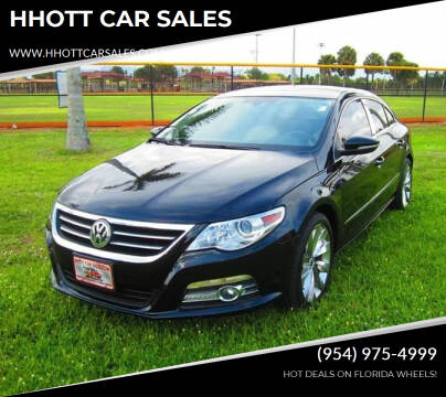 2009 Volkswagen CC for sale at HHOTT CAR SALES in Deerfield Beach FL