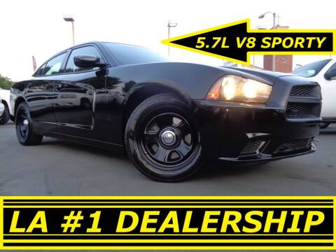 2012 Dodge Charger for sale at ALL STAR TRUCKS INC in Los Angeles CA