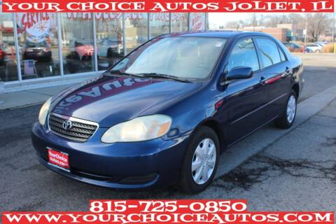 2005 Toyota Corolla for sale at Your Choice Autos - Joliet in Joliet IL
