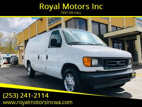2004 Ford E-Series Cargo for sale at Royal Motors Inc in Kent WA