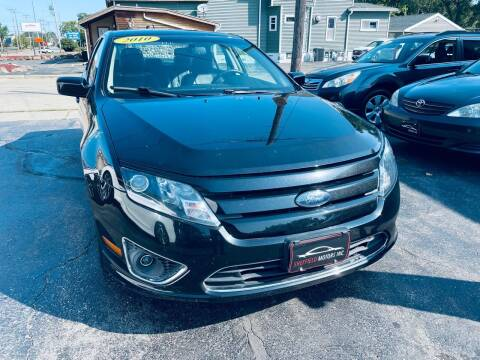 2010 Ford Fusion for sale at SHEFFIELD MOTORS INC in Kenosha WI