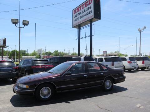 1995 Chevrolet Caprice for sale at United Auto Sales in Oklahoma City OK
