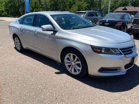 2017 Chevrolet Impala for sale at Sunrise Auto Sales in Stacy MN