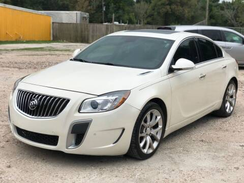 2012 Buick Regal for sale at Preferable Auto LLC in Houston TX