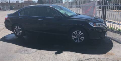 2015 Honda Accord for sale at Robert B Gibson Auto Sales INC in Albuquerque NM