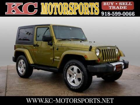 2008 Jeep Wrangler for sale at KC MOTORSPORTS in Tulsa OK