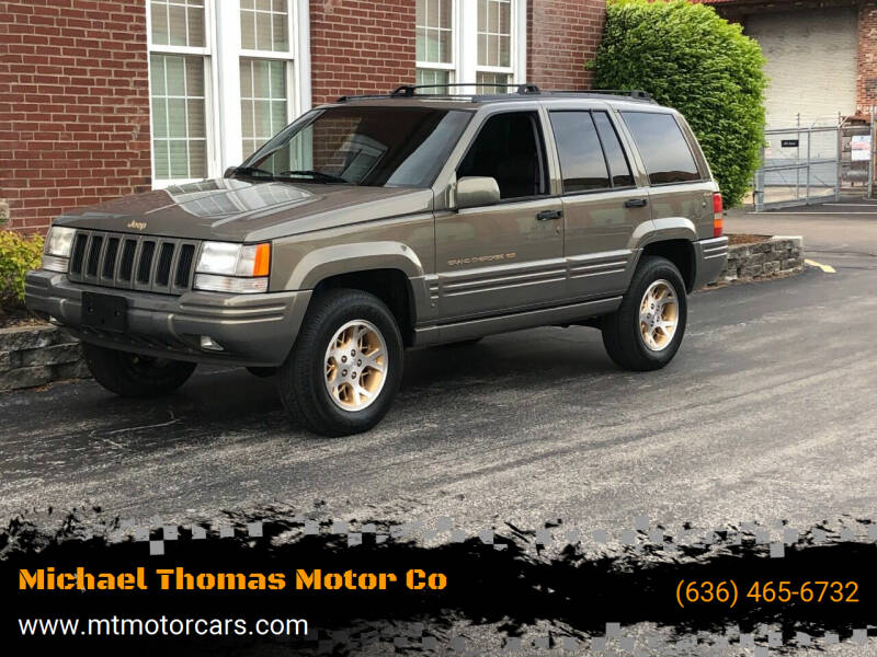 1998 Jeep Grand Cherokee for sale at Michael Thomas Motor Co in Saint Charles MO