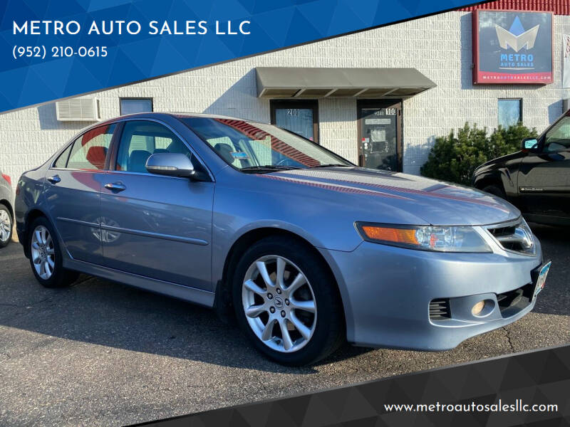 2008 Acura TSX for sale at METRO AUTO SALES LLC in Blaine MN