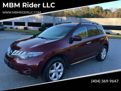 2010 Nissan Murano for sale at MBM Rider LLC in Alpharetta GA