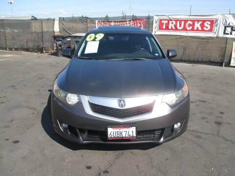 2009 Acura TSX for sale at Quick Auto Sales in Modesto CA