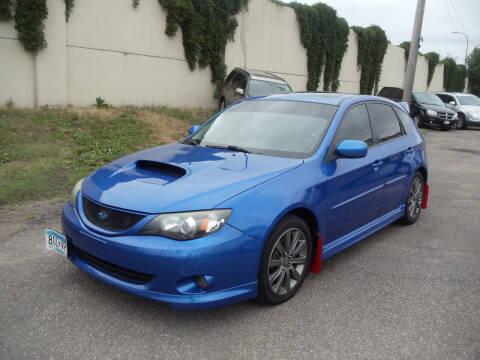 2010 Subaru Impreza for sale at Metro Motor Sales in Minneapolis MN