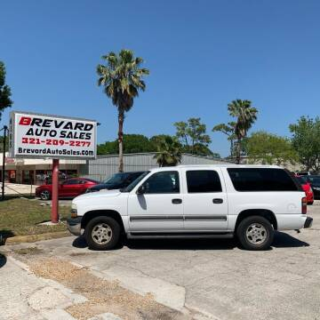 2004 Chevrolet Suburban for sale at Brevard Auto Sales in Palm Bay FL