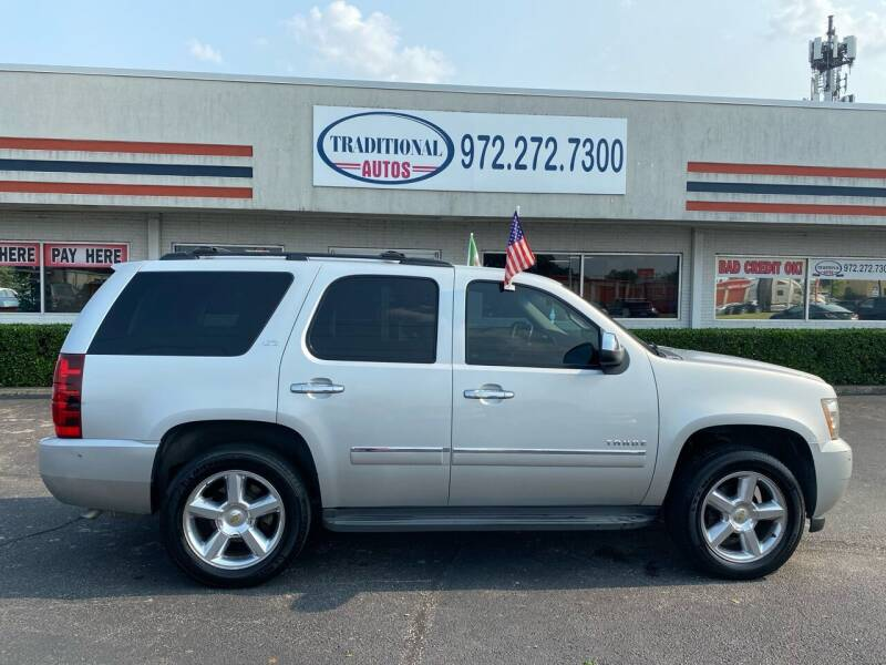 2010 Chevrolet Tahoe for sale at Traditional Autos in Dallas TX
