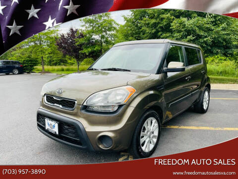 2012 Kia Soul for sale at Freedom Auto Sales in Chantilly VA