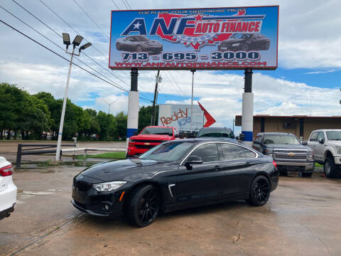 2015 BMW 4 Series for sale at ANF AUTO FINANCE in Houston TX