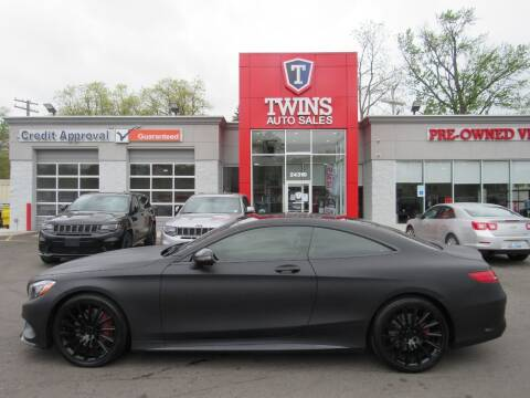 2015 Mercedes-Benz S-Class for sale at Twins Auto Sales Inc in Detroit MI