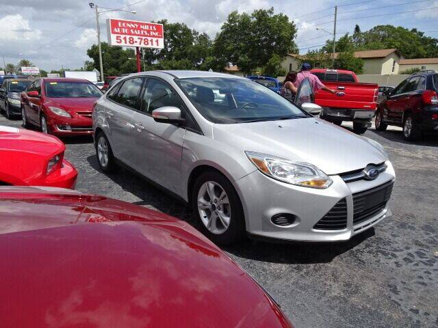 2014 Ford Focus for sale at DONNY MILLS AUTO SALES in Largo FL