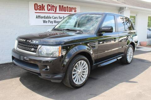2010 Land Rover Range Rover Sport for sale at Oak City Motors in Garner NC