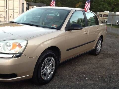 2005 Chevrolet Malibu for sale at Lance Motors in Monroe Township NJ
