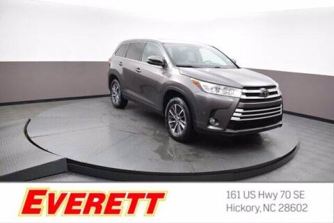 2019 Toyota Highlander for sale at Everett Chevrolet Buick GMC in Hickory NC