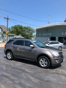 2010 Chevrolet Equinox for sale at SHEFFIELD MOTORS INC in Kenosha WI