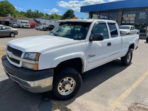 2003 Chevrolet Silverado 2500HD for sale at TRANS P in East Windsor CT