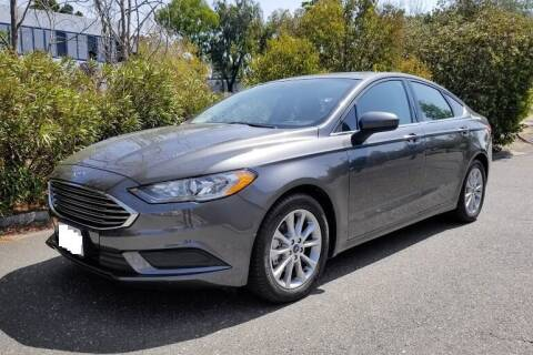 2017 Ford Fusion for sale at Ultimate Car Solutions in Pompano Beach FL