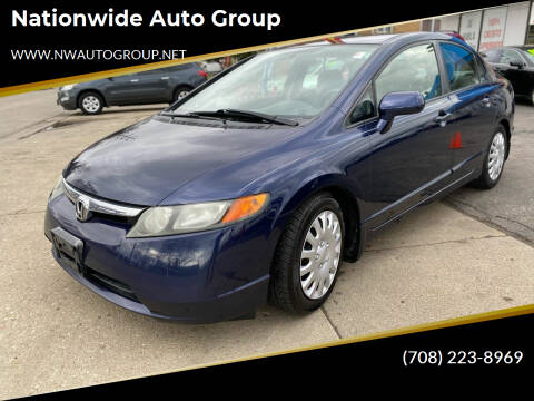2007 Honda Civic for sale at Nationwide Auto Group in Melrose Park IL